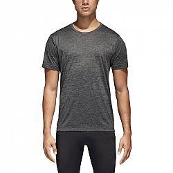 Pánske tričko adidas FreeLift Gradient šedo-čierne