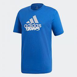 Pánske tričko adidas Tenis Logo Royal Blue