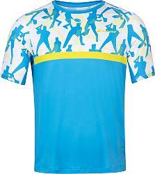 Pánske tričko Babolat Compete Crew Neck Tee Blue