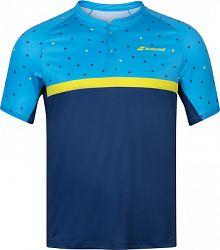 Pánske tričko Babolat Compete Polo Blue