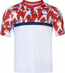 Pánske tričko Babolat Compete Polo White/Red