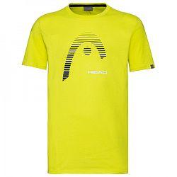 Pánske tričko Head Club Carl Yellow