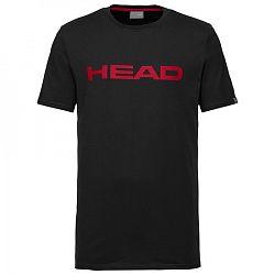 Pánske tričko Head Club Ivan Black/Red
