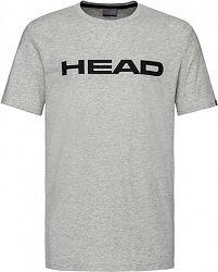 Pánske tričko Head Club Ivan Grey/Black