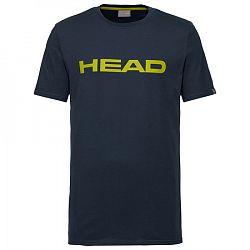 Pánske tričko Head Club Ivan Navy/Yellow
