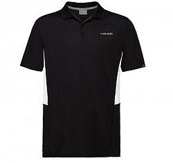 Pánske tričko Head Club Tech Polo Black