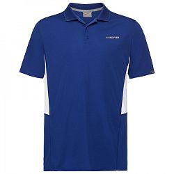 Pánske tričko Head Club Tech Polo Blue
