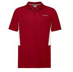 Pánske tričko Head Club Tech Polo Red