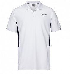 Pánske tričko Head Club Tech Polo White/Navy