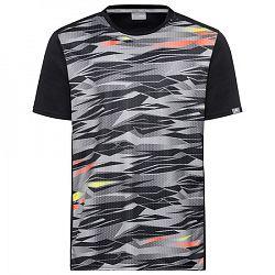 Pánske tričko Head Vision Slider Black/Grey