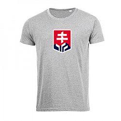 Pánske tričko Hockey Slovakia logo