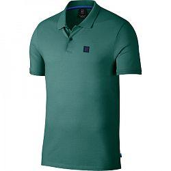 Pánske tričko Nike Court Advantage Polo Essential Mystic Green