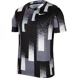 Pánske tričko Nike Court Dri-FIT Black