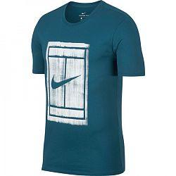 Pánske tričko Nike Court Green Abyss