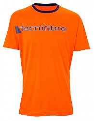 Pánske tričko Tecnifibre Cotton Tee Orange