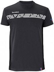 Pánske tričko Tecnifibre F1 Stretch Black 2020