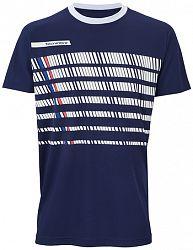 Pánske tričko Tecnifibre F2 Airmesh 360 Blue/White