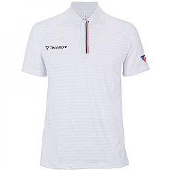 Pánske tričko Tecnifibre F3 Polo White