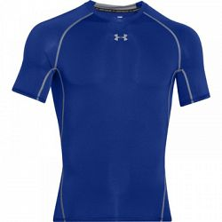 Pánske tričko Under Armour HG Compression SS Blue
