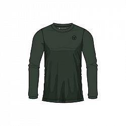 Pánske tričko Virtus Joker LS Tee tmavo zelené