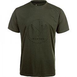 Pánske tričko Virtus Woder SS Tee tmavo zelené