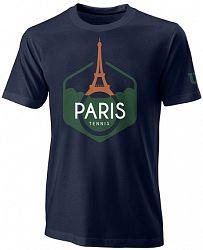 Pánske tričko Wilson Paris Tech Maritime