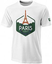 Pánske tričko Wilson Paris Tech White