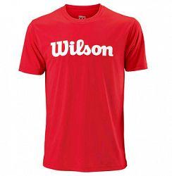 Pánske tričko Wilson Script Red