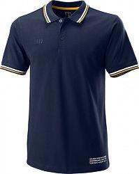 Pánske tričko Wilson Since 1914 Pique Polo Peacoat
