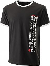 Pánske tričko Wilson Since 1914 Tee Black