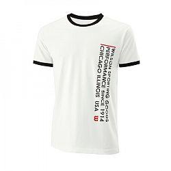 Pánske tričko Wilson Since 1914 Tee White