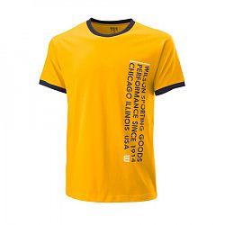 Pánske tričko Wilson Since 1914 Tee Yellow