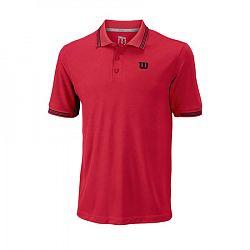 Pánske tričko Wilson Star Tipped Polo Infrared