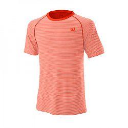 Pánske tričko Wilson Training Crew Tangerine