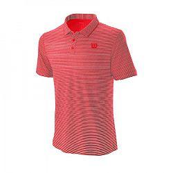 Pánske tričko Wilson Training Polo Red