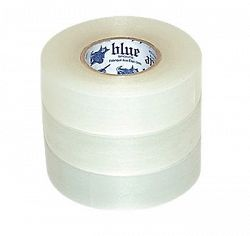 Páska na holene Clear Poly Shin Pad Tape Blue Sports 24 mm x 25 m (6 Pack)