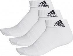 Ponožky adidas Cush Ankle White 3 páry