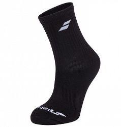 Ponožky Babolat 3 Pairs Pack Black