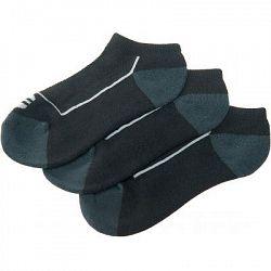 Ponožky Endurance Boron Low Cut 3-pack čierne