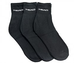 Ponožky Head Tennis Club Black (3 páry)