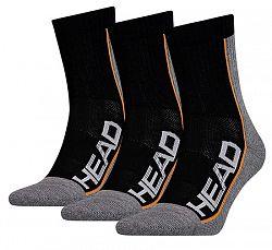 Ponožky Head Tennis Performance Black (3 páry)