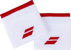 Potítka Babolat Logo Wristband White/Red (2 ks)