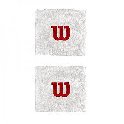 Potítka Wilson Wristband 2.5´´ White (2 ks)