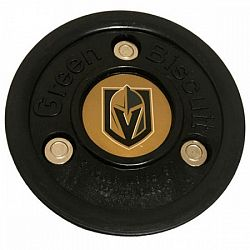 Puk Green Biscuit Vegas Golden Knights