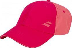 Šiltovka Babolat Basic Logo Cap Junior Red Rose