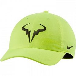 Šiltovka Nike Court Aerobill H86 Rafa Volt/Black