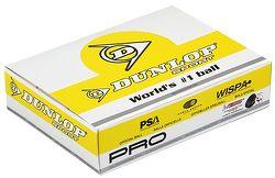 Squashové loptičky Dunlop - 2 žlté bodky - balenie po 12 ks
