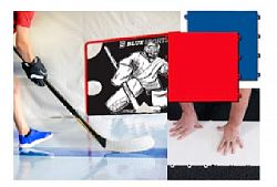 Střelecká deska Blue Sports Hockey Training Surface 20x White