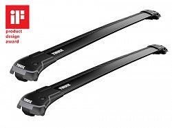 Strešný nosič wingbar edge černý pro Hyundai i30 SW 5-dr kombi so strešnými lyžinami (hagusy) 2007-2011