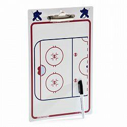 Taktická tabuľa BERIO Coach Clip Delux A4 Goalie